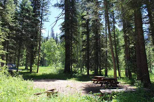 Tent Sites | Campground in Pagosa Springs, CO | Bruce ...
